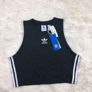 Adidas Originals cropped tank top